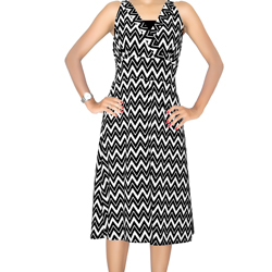 Printed Knitted Dress (1)