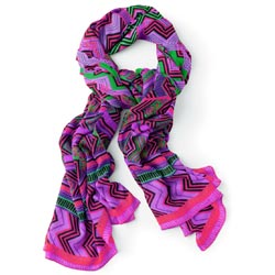 Abstract Pink Scarf